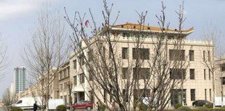 North Korean consulate in Dandong, China