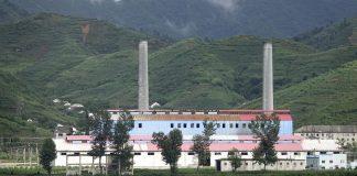 Factory in North Pyongan Province, North Korea