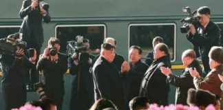 Kim Jong Un departs Pyongyang for his second summit with the United States in Hanoi, Vietnam