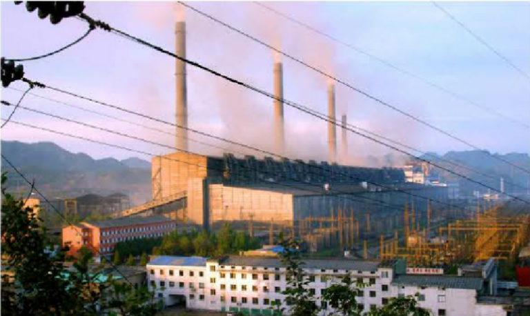 Pukchang Thermal Power Complex in South Pyongan Province