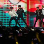 South Korean K-pop group BTS performs in November 2018