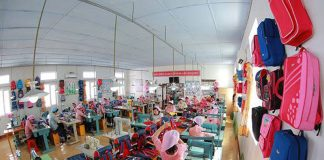 Chongjin Bag Factory in North Korea