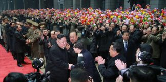 Kim Jong Un returns to Pyongyang following the second U.S.-North Korea summit in Hanoi