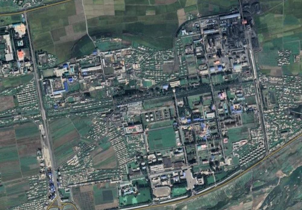Satellite imagery of Namhung Youth Chemical Complex