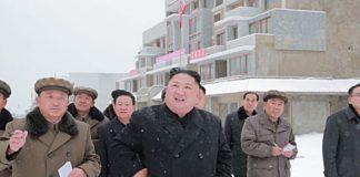 Kim Jong Un in Samjiyon in October 2018