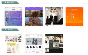 Mobile apps developed by Chosun Expo