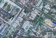 Satellite imagery of Hungnam Fertilizer Complex