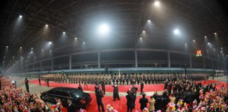 Kim Jong Un returns to Pyongyang following the Hanoi Summi