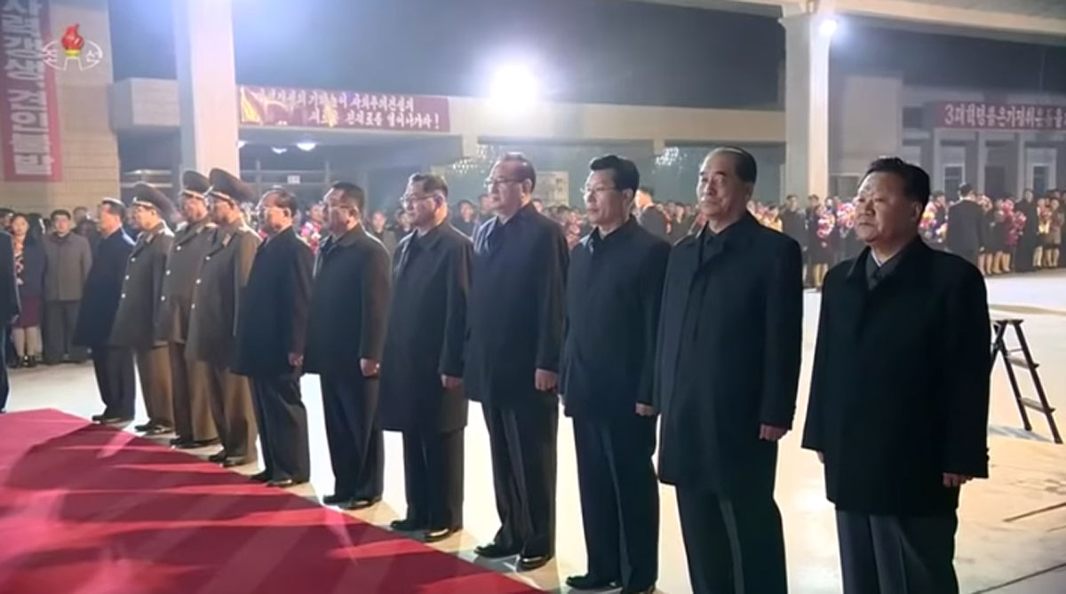 Kim Yong Chol was not among the officials present for Kim Jong Un's departure from Pyongyang for April summit with Russia