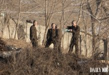 North Korean soldiers in Sakju County, North Pyongan Province covid-19