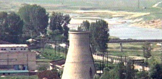 Nuclear facilities in Yongbyon County, South Pyongan Province, North Korea