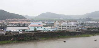 Hyesan, Ryanggang Province in August 2018