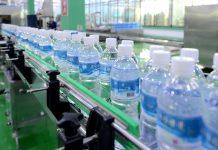 Drinking water produced at a factory near North Korea's Ryongak Mountain. Image = Uriminzokkiri homepage