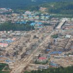 Samjiyon construction area