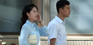 Pyongyang residents