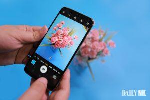 North Korea's latest smartphone, the Pyongyang 2425