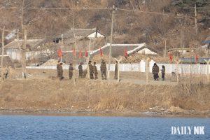 North Korean soldiers in Sakju County, North Pyongan Province enlistees biological wafare