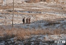 North Korean soldiers in Saju County, North Pyongan Province arrested probe