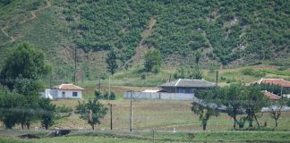 Household near the Chinese border in North Hamgyong Province