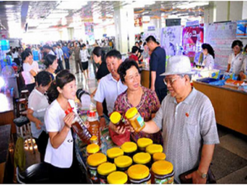 N. Korea honey production