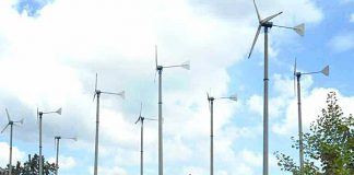 Wind-powered turbines
