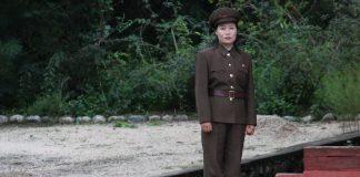 Female north korean soldier