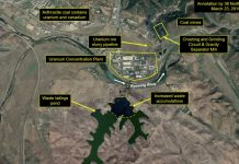 Satellite view of Pyongsan mine