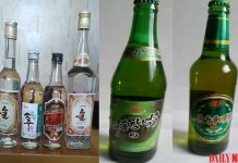 North Korean alcohol