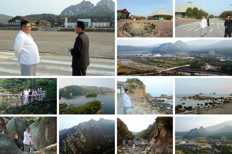 Kim Jong Un Mount Kumgang