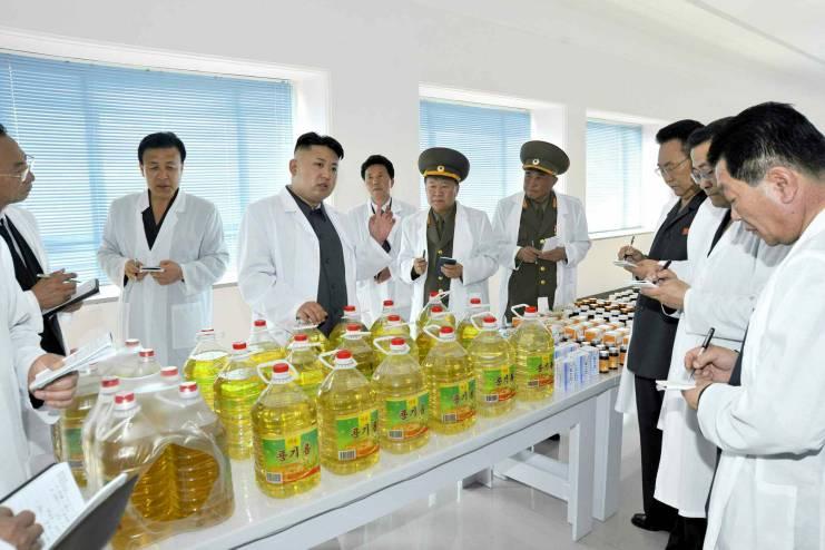 Kim Jong Un soybean oil