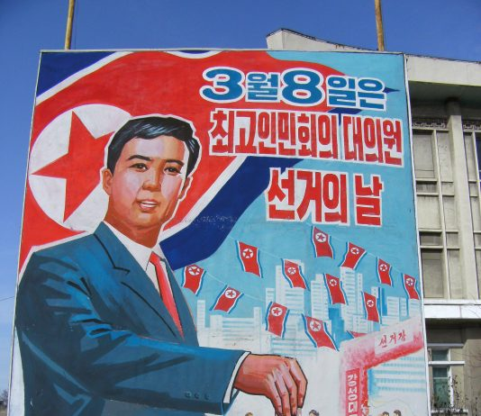 Election day north korea