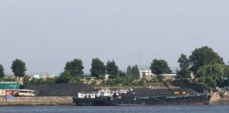 North Korean coal ship