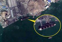 North Korean coal ship