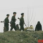 North Korean soldiers electricity
