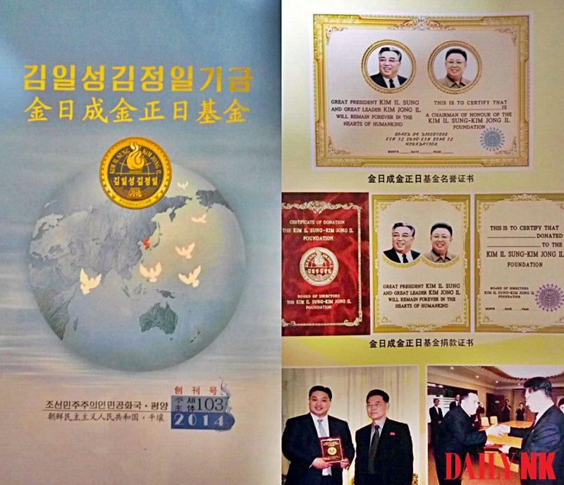 Kim Il Sung loyalty fund
