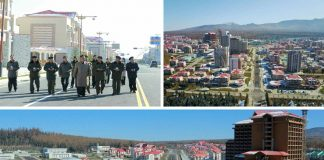 Kim Jong Un visit to Samjiyon