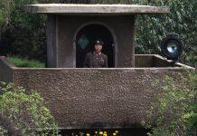 North Korean soldier secretly defectors