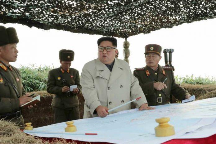 Kim Jong Un west sea firing