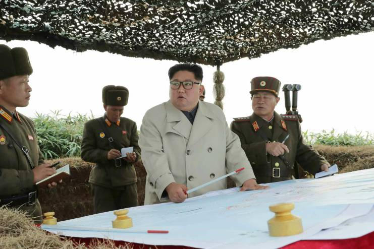 North Korea fires 'projectiles' into the sea