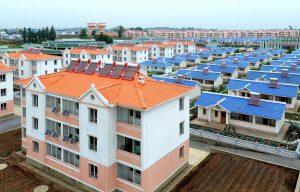 North Korea solar panels