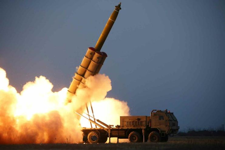 north korea strategic position