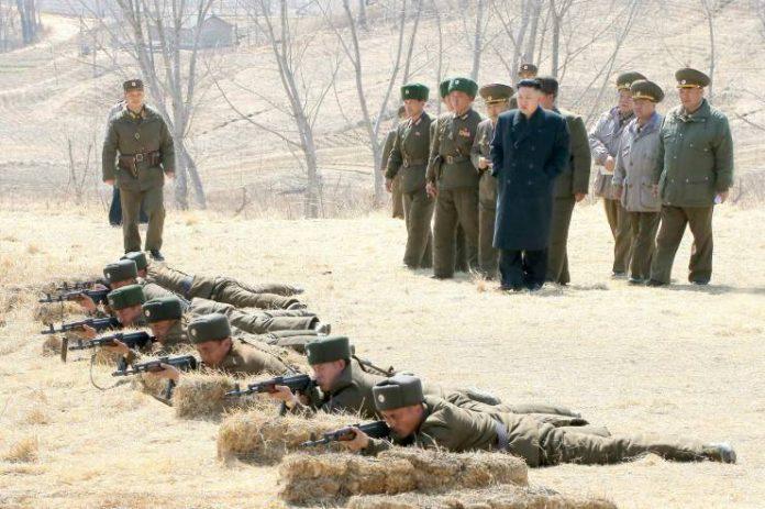 elite military unit storm corps border landmine