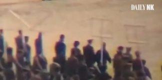 students parade