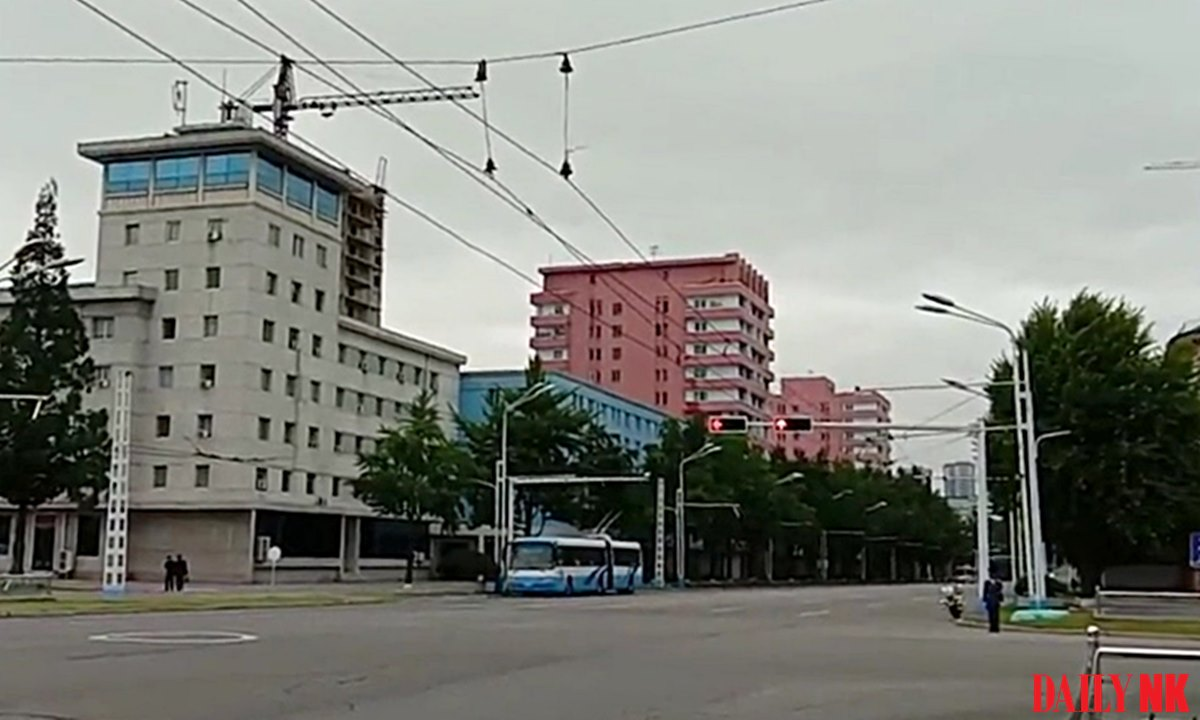 Pyongyang as seen in August 2018
