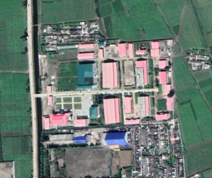 Satellite imagery of Chongjin Munitions Factory (No. 129)