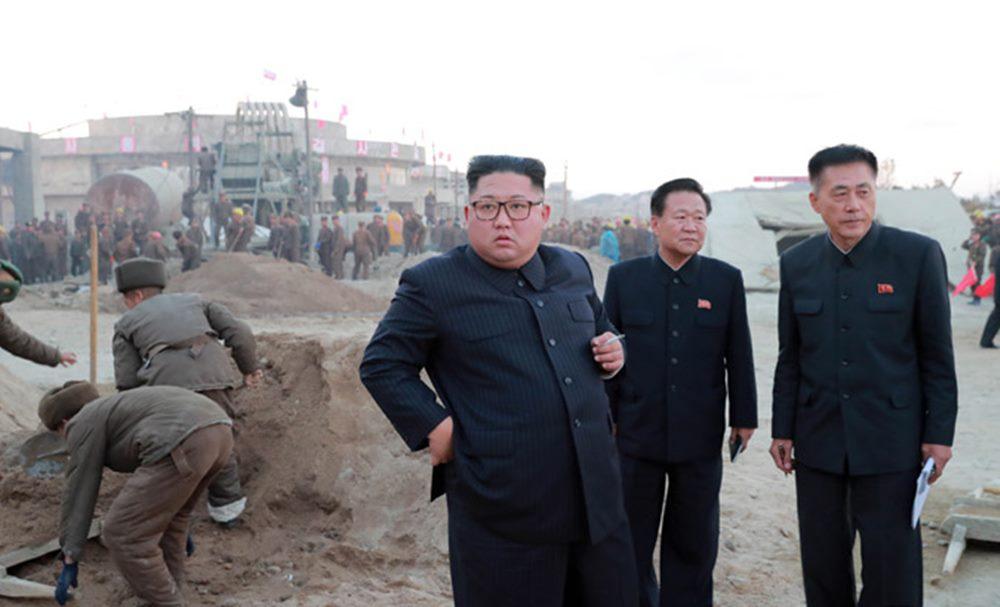 김정은 원산갈마해안지구 현지지도