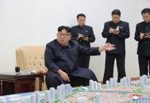김정은 신의주 건설