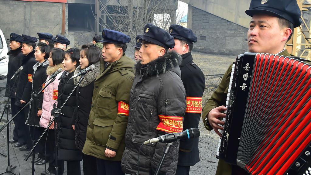 북한 대학생 봉사활동