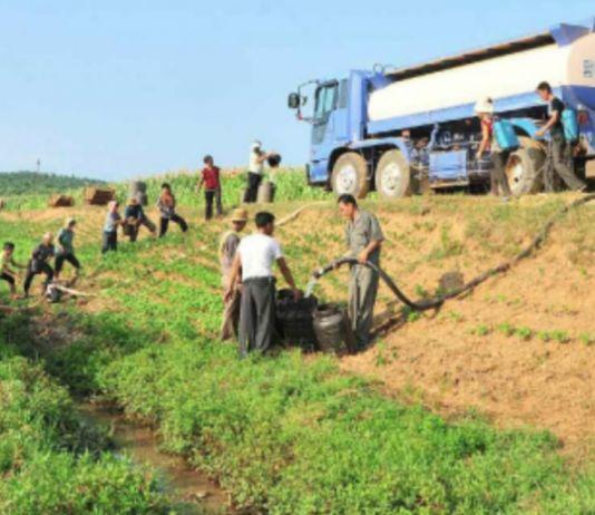 북한 가뭄