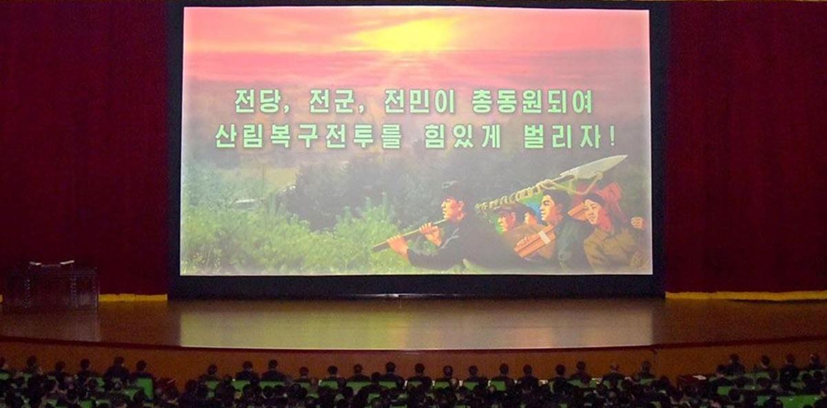 산림복구 및 국토환경보호부문 일군회의